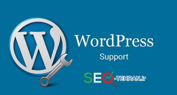 پشتیبانی سایت حرفه ای