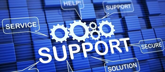 وظیفه پشتیبانی سایت