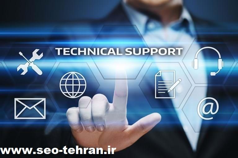 پشتیبانی سایت های مختلف