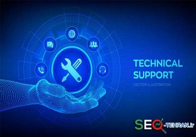 پشتیبانی سایت فنی
