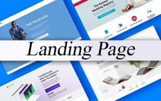 صفحه ورود (Landing page)